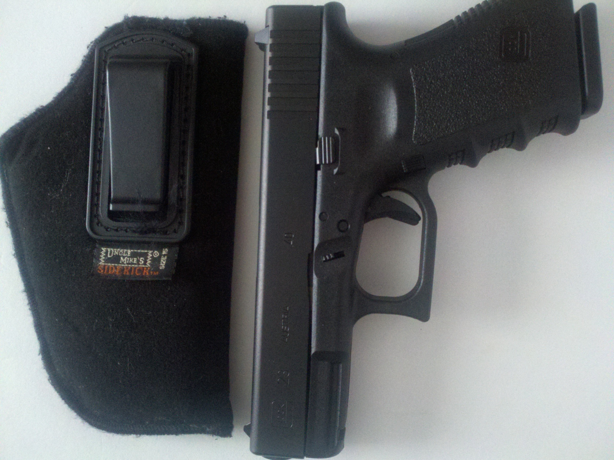 New member holster question!