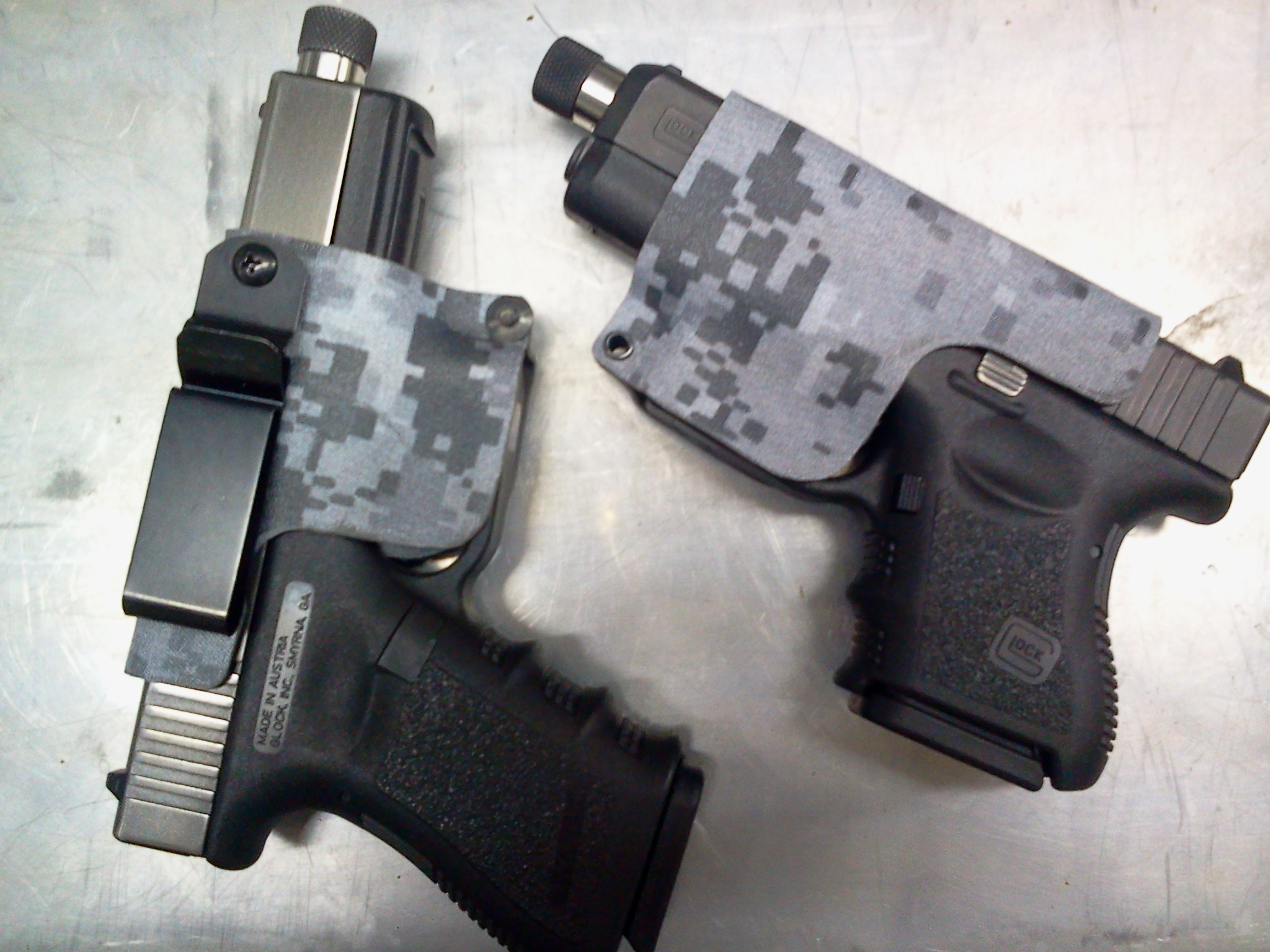 Kydex Holsters For sale Glock 17,18, 19, 22, 23, 26, 27 (20$)