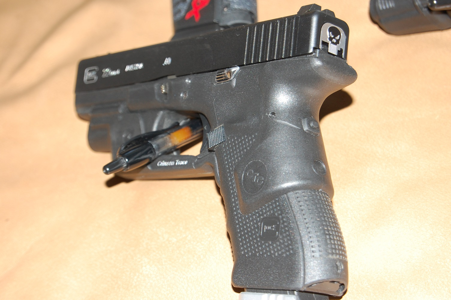 Glock 19 Accessories On mine I have Competition
