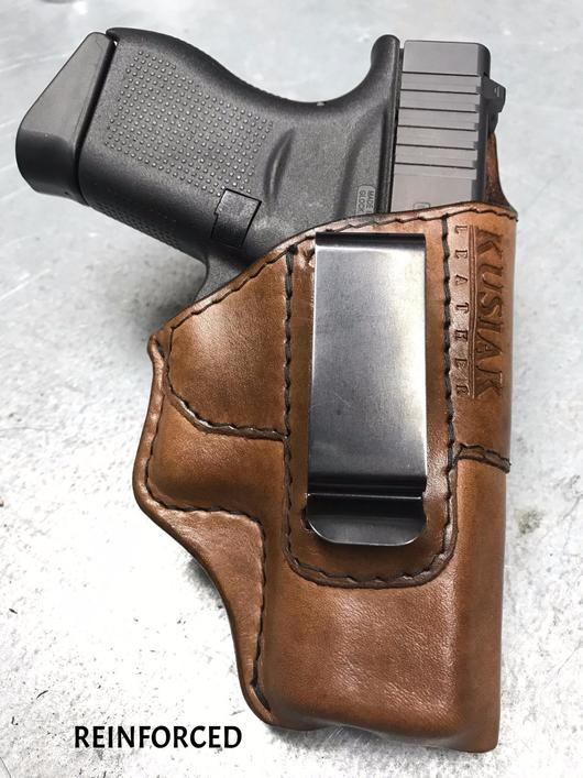 Click image for larger version.  Name:Glock 43 Old Fashioned Holster IWB Carry.jpg Views:242 Size:62.5 KB ID:15730