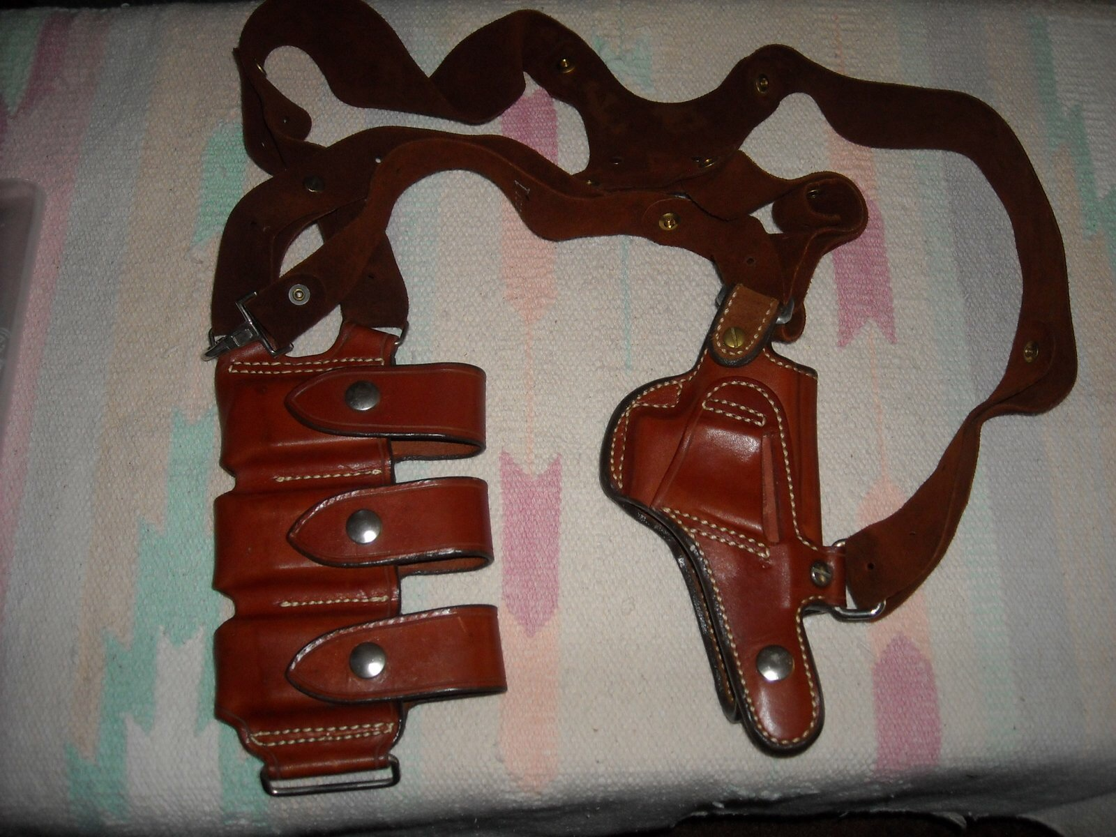Andrews Custom Shoulder Holster - Glock 26/27