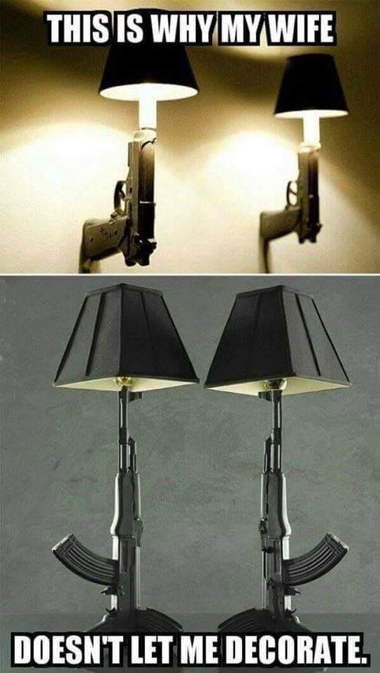 High Quality How About A JOKE!!! Lamp .