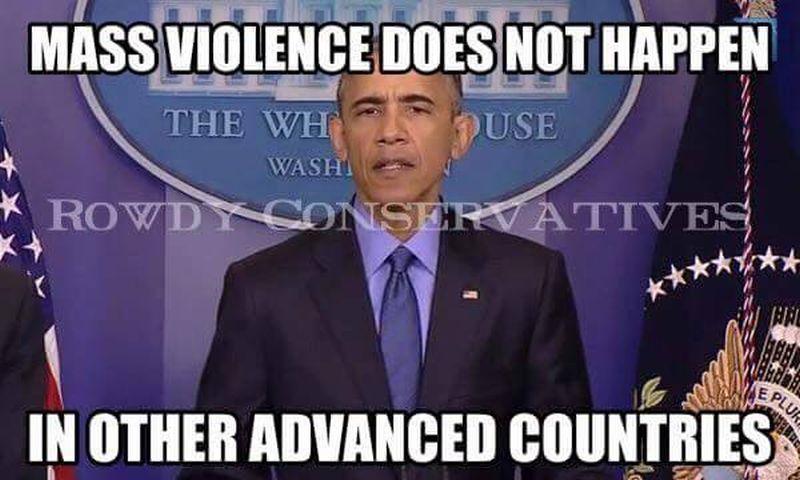 7544d1447507555 brutal meme paris crushes obama s gun control arguments mass brutal meme on paris crushes obama's gun control arguments,Obama Gun Control Meme