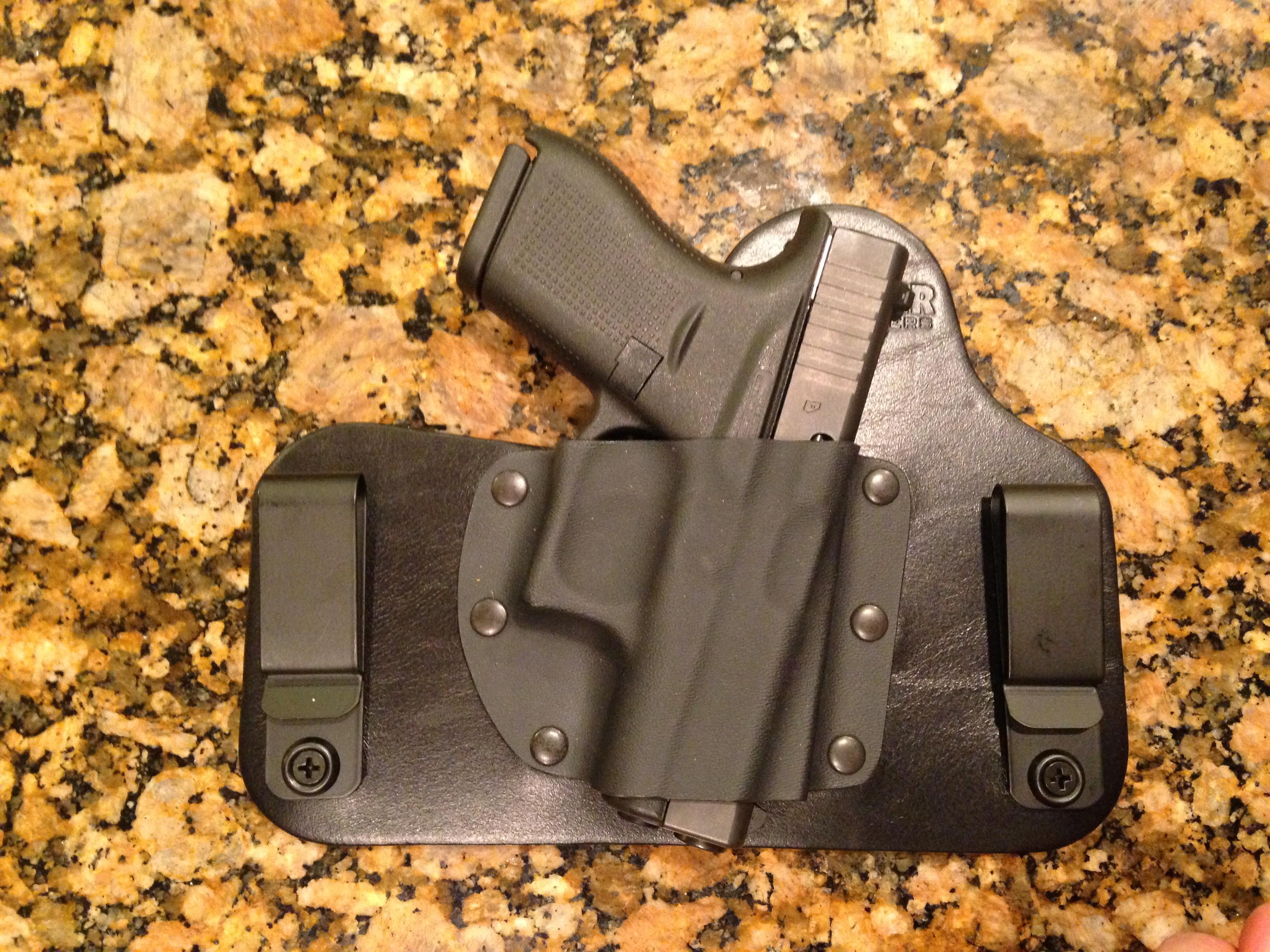 Vedder Comfort tuck mini holster for G42